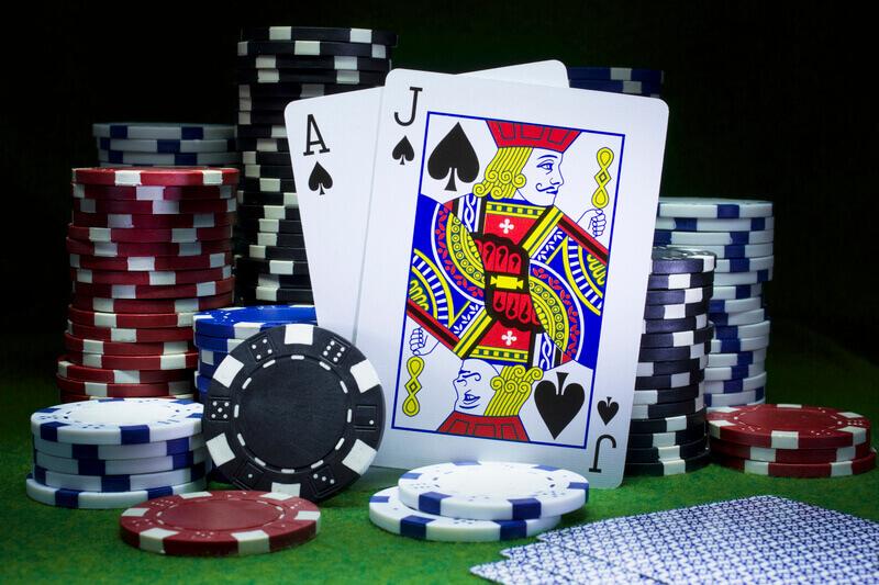 Cards and Chips, Poker, Baccarat, Blackjack