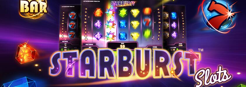 Starburst slotten - Klassisk spelautomat från NetEnt